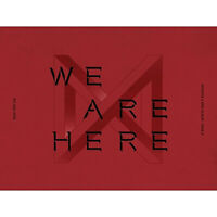 [MONSTA X]2nd Album Take.2 'WE ARE HERE'/VER.2/New, Sealed/Poster Option