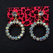 Betsey Johnson Fashion Lovely Enamel Colorful Garland Wonmen's Earrings Gift