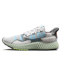 New Adidas ZX 4000 4D 'I Want, I Can' EF9624 - Grey, Men's Shoes Sneaker Trainer