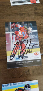 2010-11 Ebel Erste Banca Eishockey Liga Christoph Brandner Minnesota Wild Ec Kac