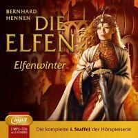 DIE ELFEN - STAFFEL 1: ELFENWINTER, FOLGE 1-05 (2MP3 CDS)  2 CD-ROM NEU