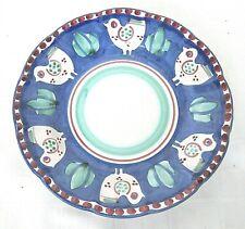 """Solimene Vietri 8"""" Salad Plate Campagna Chicken~Excellent"""