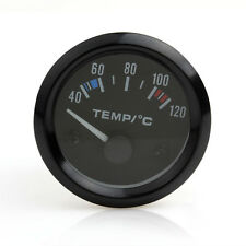 2Inch Auto Car Pointer Water Temperature Temp Gauge 40 - 120 Celsius White LED