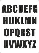 Letter sheet sticker vinyl decal car bike door wheelie bin black race