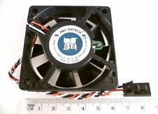 More details for jmc datech fan 0615-12hbtl 12v dc 0.18amp 3 wire 60x60x15mm ebl62a1-6