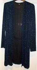 Evening cardigan jacket Size 16 long sparkle lightweight Debenhams Brand New