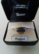 #186 NEW Harley-Davidson ring by Stamper, Platinet, size 11