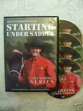 CLINTON ANDERSON - 4 DVDS COLT STARTING UNDER SADDLE Horse training