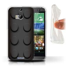 Étuis, housses et coques noirs HTC One M8 pour téléphone mobile et assistant personnel (PDA) HTC