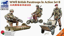 Bronco 1/35 35192 WWII British Paratroops In Action Set B