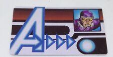Heroclix Age of Ultron set Machine Man #AUID-009 Rare ID Card!