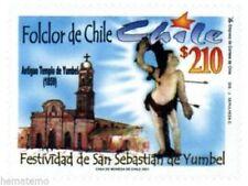 Chile 2000 #2041 Festividad de San Sebastian de Yumbel MNH