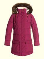 ROXY Women's ELLIE Longline Puffer Snow Jacket - RRV0  Small  NWT  LAST ONE LEFT