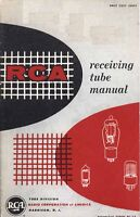 RCA RECEIVING TUBE MANUAL RC-17 1954 PDF