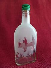 Glass Bottle Flask with Hunting Fishing Design Idea For the Gift Angler Boat 5M