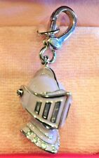 NWT 2008 JUICY COUTURE KNIGHT HELMET SILVER CHARM YJRU2482