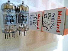 CV4004 M8137 ECC83 Mullard 82 22 Platinum Matched Pair  K  NOS Valve Tube F19