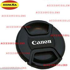 TAPA DELANTERA PARA OBJETIVO CANON 58 Front Lens Cap CANON  58 CON  CORDÓN