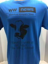 Funny Vegetarian Anti Vegan PETA Mens Short Sleeve T Shirt eat beef L Hairy Baby