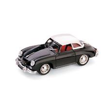 PORSCHE 356 HARD TOP 1952 NERO 1:43 Brumm Auto Stradali Die Cast Modellino