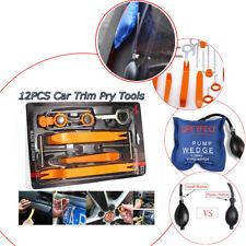 13pcs Car Dash Panel Audio Removal Tools Kit+Air Pump Wedge For Car Door Repair