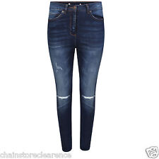 Womens Knee Ripped Skinny Jeans (8-20)