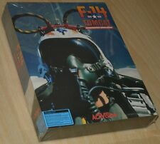 ~ F-14 TOMCAT Dogfighting Simulation ~ IBM PC DOS ~ BIG boxed/SEALED COLLECTIBLE