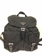 Introductory Offer Auth Prada Nylon Leather Backpack Rucksack Bag ~ Classic