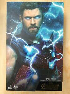 Hot Toys MMS 474 Avengers 3 Infinity War Thor Chris Hemsworth 1/6 Figure USED