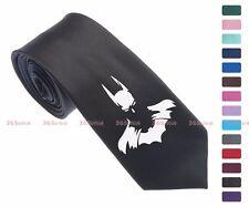 Cool Batman Face Men Multi-colored 6.5 cm Skinny Slim Tie Necktie 062