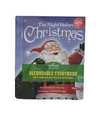 New! Hallmark Recordable Book The Night Before Christmas Gift Book - With Music!