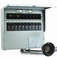 Reliance Controls Pro/Tran2 - 50-Amp (120/240V 10-Circuit) Indoor Transfer Sw...