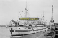 rp11671 - Australian Hospital Ship Liner - Wanganella , built 1929 - photo 6x4