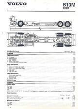 1988 Volvo B10M Bogie Bus Chassis Brochure Brazil wl7989-LEOQSQ