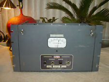 Gates Radio Company M4990, Tube, Frequency Monitor, Vintage Rack, Repair