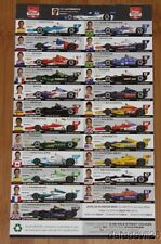 2014 Barber Indy Car Spotter Guide Dixon Power Helio Montoya Kanaan Andretti