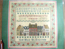 Dickens' Village Sampler - Margaret & Margaret - Cross Stitch Sampler Chart