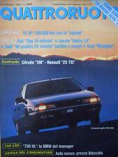 Quattroruote 409 1989 - Fiat Tipo 16 Valvole - Audi 90 4 valvole  [Q40]