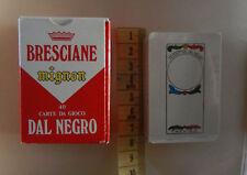 Bresciane mignon 40 carte da gioco Dal Negro scopa briscola collezionismo cards