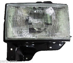 New Replacement Headlight Assembly LH / FOR 1992-97 TROOPER & ACURA SLX