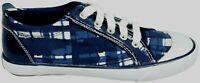 Coach Barrett Navy Blue&White Tennis Sneakers/Sneaker Shoes Women's Size 7 new
