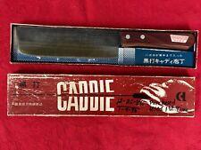 New listing Vintage Japanese Caddie Nakiri Chef Knife in Original Box