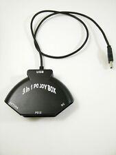 PC Joy Box Sega Dreamcast Sega Saturn Sony Playstation 2 USB Adapter controller