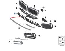 BMW X6 F16 Frontstoßstange Unterer Grill Xtravagance 51117349361 2016 Neu