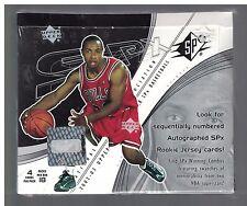 2002-03 UPPER DECK SPx Basketball Hobby Box Factory Sealed Manu Ginobli & Ming R