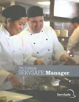 ServSafe Manager Book English 7th Edition NEW, book with Answer Sheet