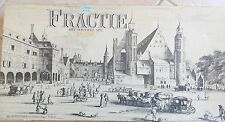 Rare Dutch Board Game FRACTIE