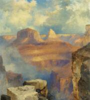 Grand Canyon Thomas Moran Fine Art Print on Canvas HQ Giclee Reproduction Small