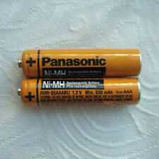 Rechargable 2 x AAA HHR-65AAAB 1.2V Ni-MH 630mAh Battery for Panasonic Cordless-