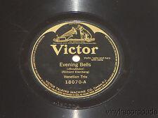 VENETIAN TRIO Alpine Violet / Evening Bells 78 Victor 10870 batwing Violin/Cello